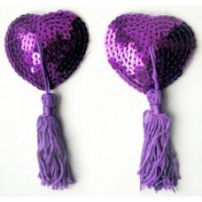 Пэстисы  цвет фиолетовый, (текстиль)