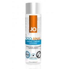 Анальный охлаждающий любрикант обезболивающий на водной основе JO Anal H2O COOL, 4 oz (120мл.)