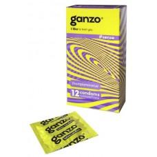 Презервативы GANZO Sense №12 - Ультратонкие презервативы