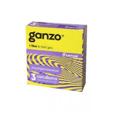 Презервативы GANZO Sense №3 - Ультратонкие презервативы