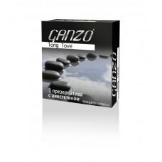 Презервативы GANZO Long Love №3 - Презервативы с анестетиком